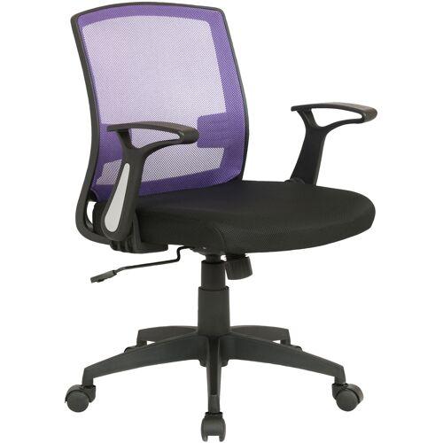 CLP Bürostuhl Renton-schwarz/lila