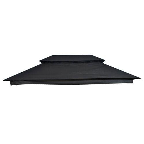 CLP Stoff-Dach für Kenia Hollywoodschaukel-schwarz