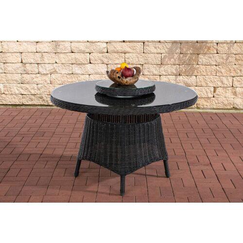 Loraville runder Gartentisch Jardin 120 cm-rund_schwarz