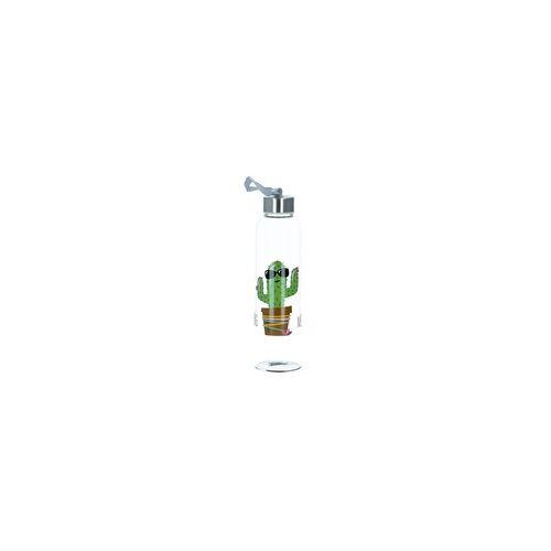 PPD Trinkflasche Glasflasche Hug Me Kaktus 500 ml