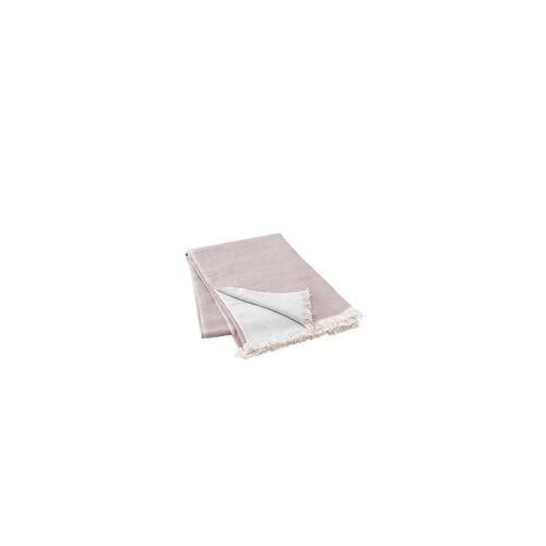 blomus Nea Decke Überwurf 130x180 cm Bark rosa
