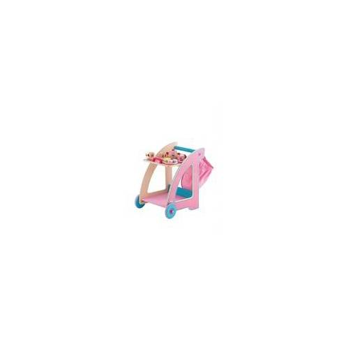 Sevi Teewagen rosa Holzspielzeug Kinder 82925