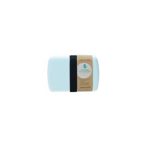 Zuperzozial Lunchbox Brotdose Bento Box Timeout puder blau