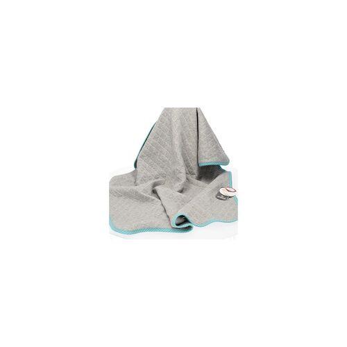 sigikid Babydecke Urban Baby Edition grau/blau