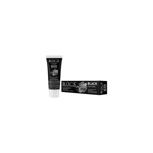R.O.C.S. ROCS Black Edition Aktivkohle Zahncreme 74 g