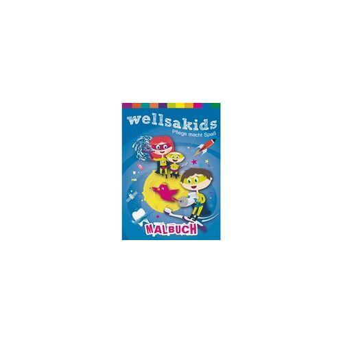 wellsamed wellsakids Malbuch