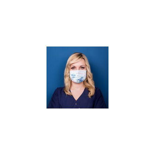 wellsamed wellsamask medizinischer Mundschutz CE EN14683 wellsakids 50 Stück