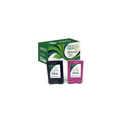 HP 2x REMAN DRUCKER PATRONE für HP 301 XL DeskJet 1000 1110 2130 Envy 4500 5530