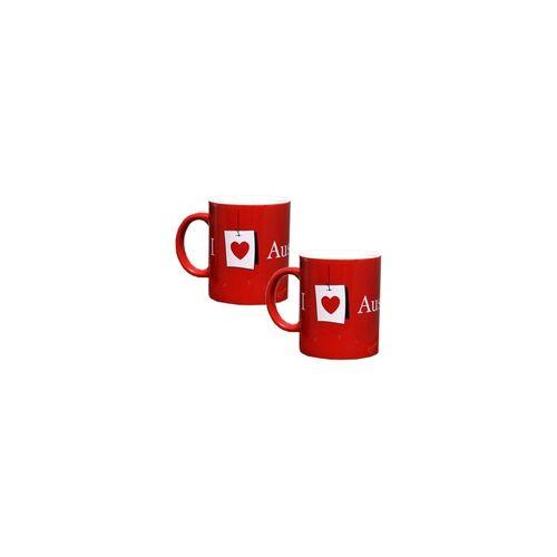 Austrian 2x Austrian Kafeetasse 330 ml Tee Kafee Tasse Becher