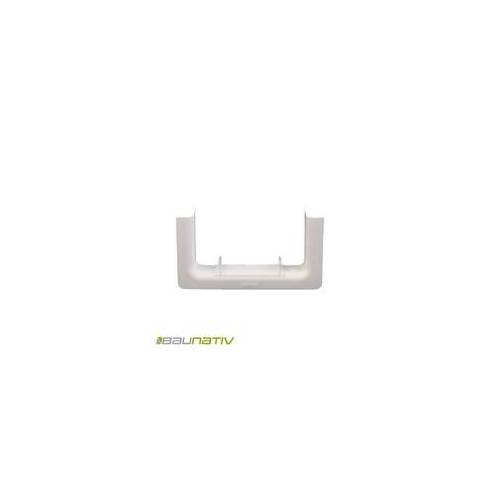 Licatec Wandblende BR 130x70 PVC reinweiß