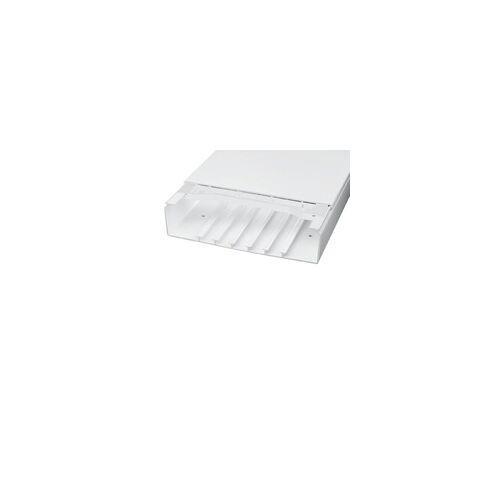 Licatec Installationskanal CK 190x60 PVC reinweiß - 2 m Kabelkanal