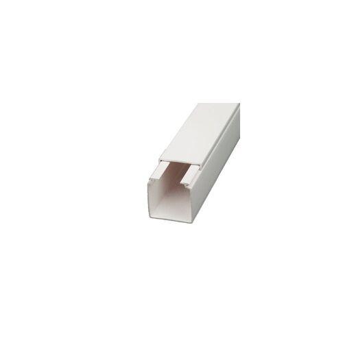 Licatec Installationskanal CK 30x30 PVC reinweiß - 2 m Kabelkanal