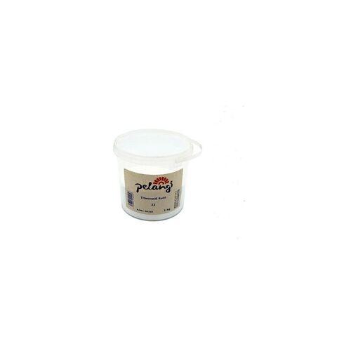 Pelangi Titanweiß Rutil 22 - 500 g Becher