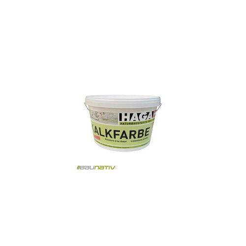 HAGA AG Naturbaustoffe HAGA Kalkfarbe weiß - 10 kg Eimer