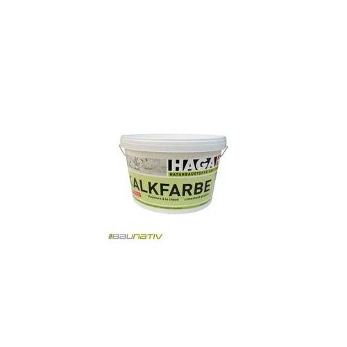 HAGA AG Naturbaustoffe HAGA Kalkfarbe weiß - 20 kg Eimer