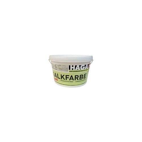 HAGA AG Naturbaustoffe HAGA Kalkfarbe weiß - 5 kg Eimer