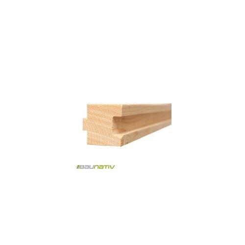 Lithotherm Holzprofilleiste für Formplatte Lava 2,38 m lang - 1 Stück