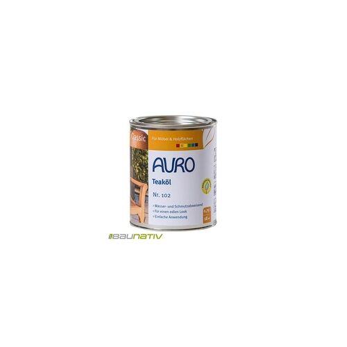 Auro Teaköl Classic 102-81 - 0,75 l Dose