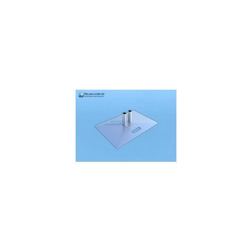 Bauzaunwelt Standplatte für Bauzaun
