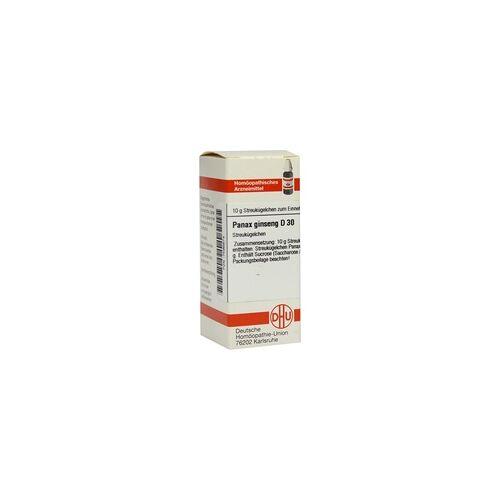 DHU-ARZNEIMITTEL Panax Ginseng D 30 Globuli 10 g