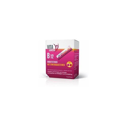 Mibe Vita Aktiv B12 Direktsticks mit Eiweißbausteinen 90 St