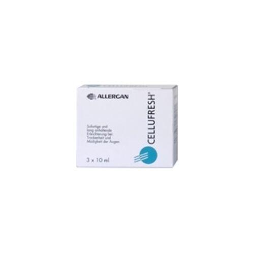 Allergan GmbH Cellufresh Augentropfen 3X10 ml