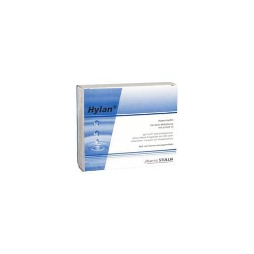 PHARMA STULLN GMBH Hylan 0,65 ml Augentropfen 10 St