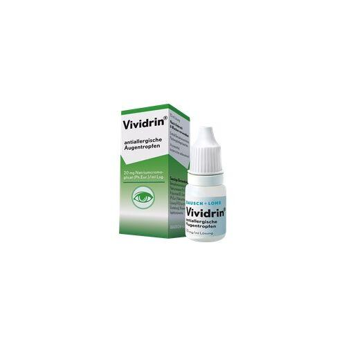 Dr. Gerhard Mann Vividrin antiallergische Augentropfen 10 ml