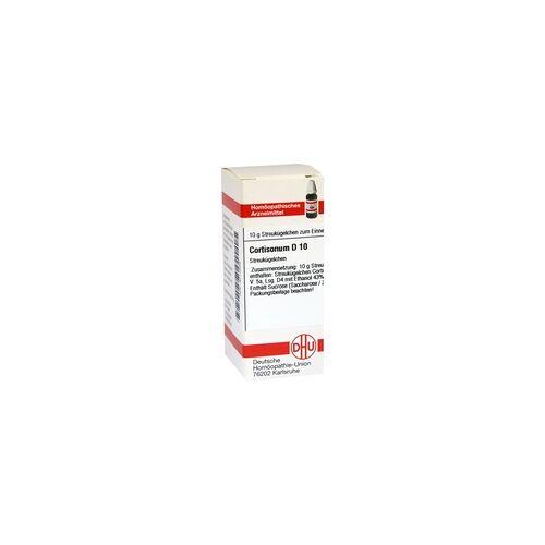 DHU-ARZNEIMITTEL Cortisonum D 10 Globuli 10 g