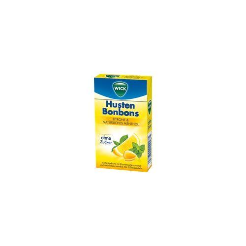 Candy Wick Zitrone & nat.Menthol Bonb.o.Zucker Clickbox 46 g