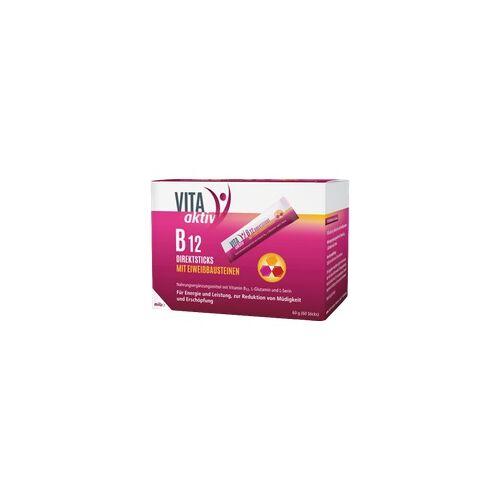 Mibe Vita Aktiv B12 Direktsticks mit Eiweißbausteinen 60 St