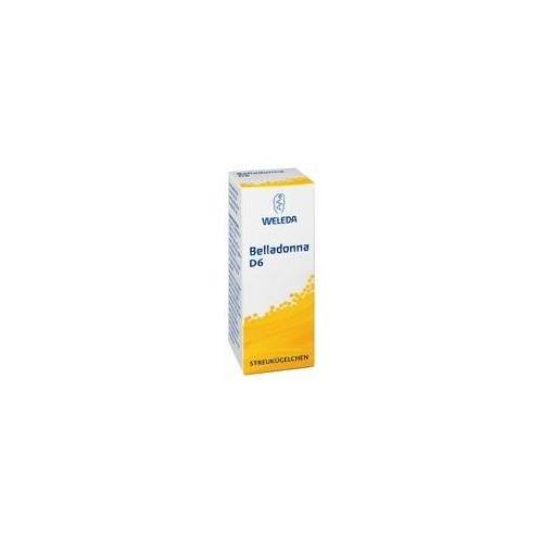 Weleda Belladonna D 6 Globuli 10 g
