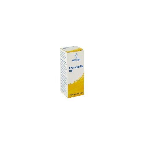 Weleda Chamomilla D 6 Globuli 10 g
