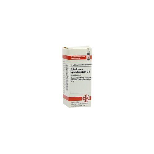 DHU-ARZNEIMITTEL Ephedrinum hydrochloricum D 6 Globuli 10 g