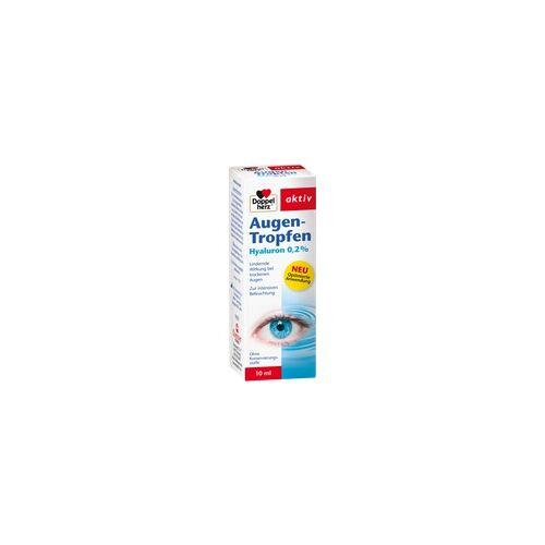 Queisser Doppelherz Augen-Tropfen Hyaluron 0,2% 10 ml