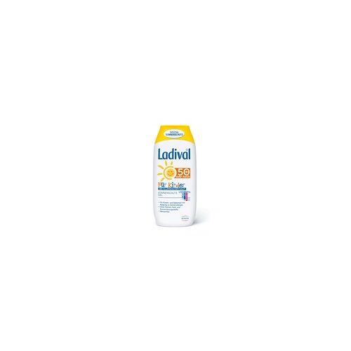 STADA Ladival Kinder Sonnengel allergische Haut LSF 50+ 200 ml