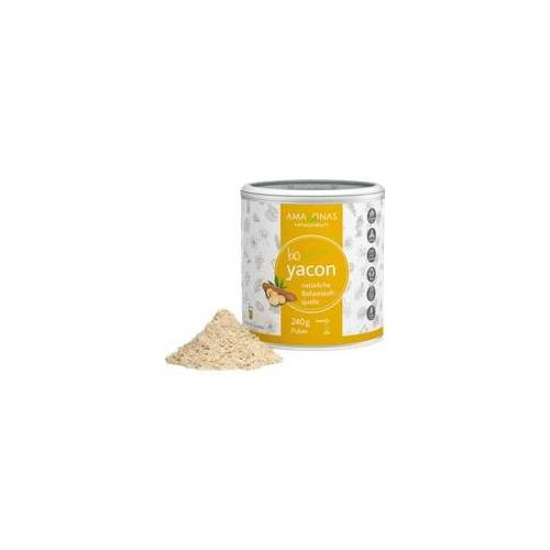 Amazonas Yacon 100% Bio pur natürliche Süße Pulver 240 g