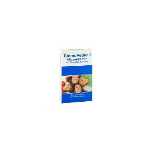Biomin Pharma Biomopedicul Nissenkamm mit Einmalhandschuhen 1 P