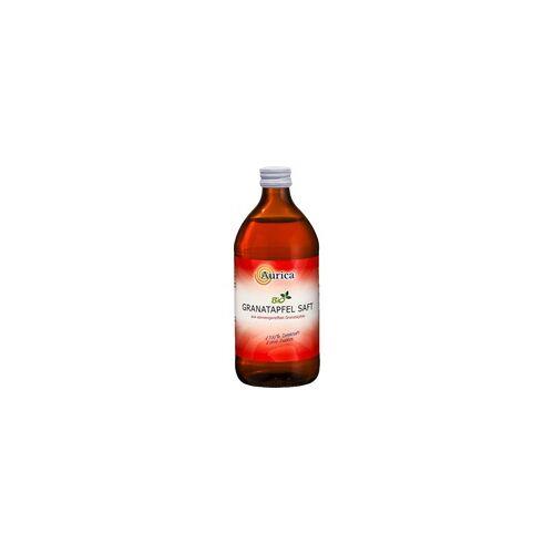 Aurica Granatapfel 100% Direktsaft Bio 500 ml