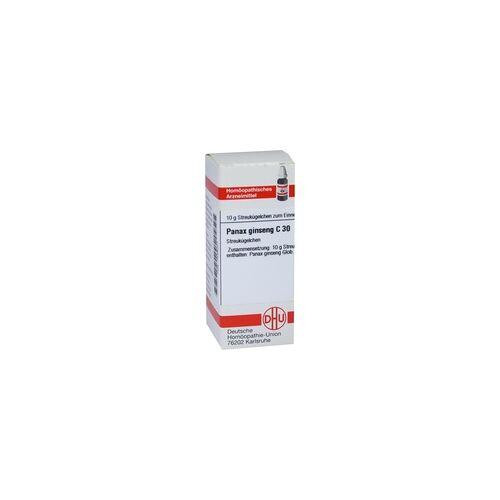 DHU-ARZNEIMITTEL Panax Ginseng C 30 Globuli 10 g