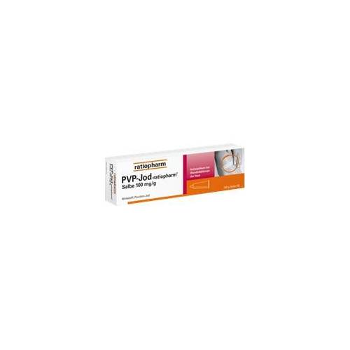 Ratiopharm PVP-JOD-ratiopharm Salbe 100 g