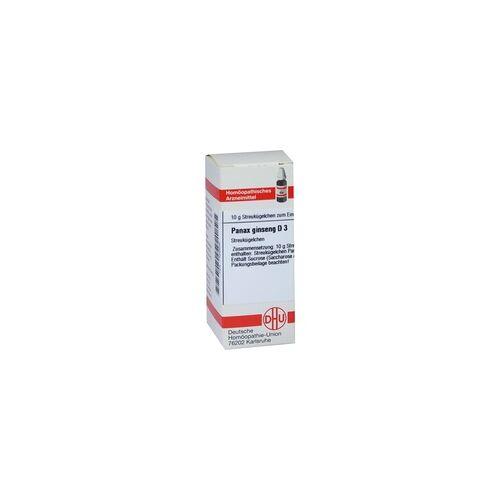 DHU-ARZNEIMITTEL Panax Ginseng D 3 Globuli 10 g