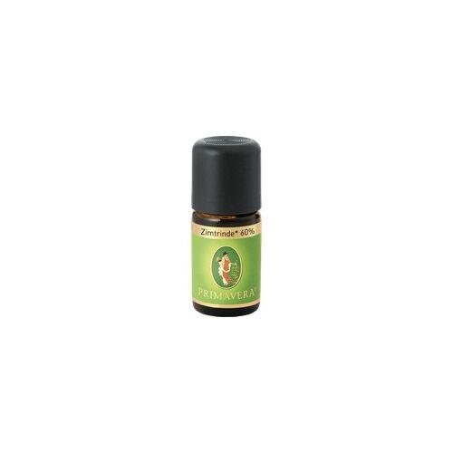 Primavera Zimtrinde 60% kbA ätherisches Öl 5 ml