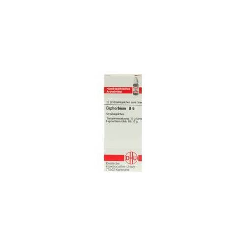 DHU-ARZNEIMITTEL Euphorbium D 6 Globuli 10 g