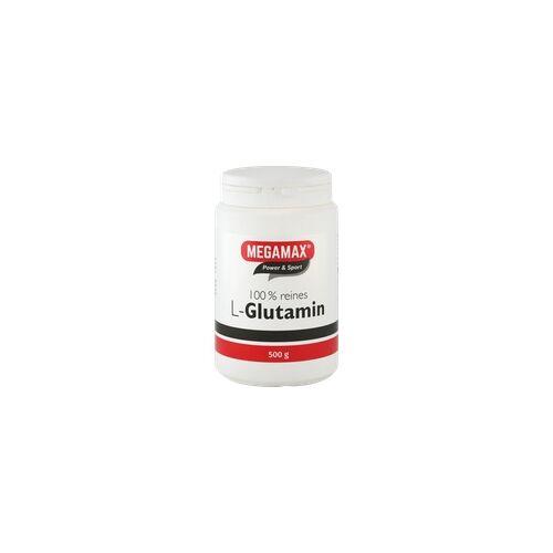 Megamax B.V. Glutamin 100% rein Megamax Pulver 500 g