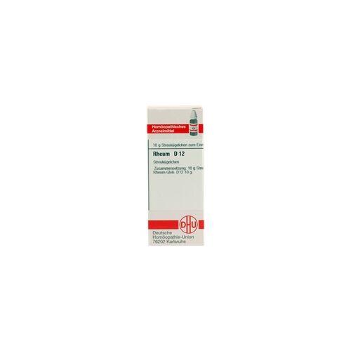 DHU-ARZNEIMITTEL Rheum D 12 Globuli 10 g