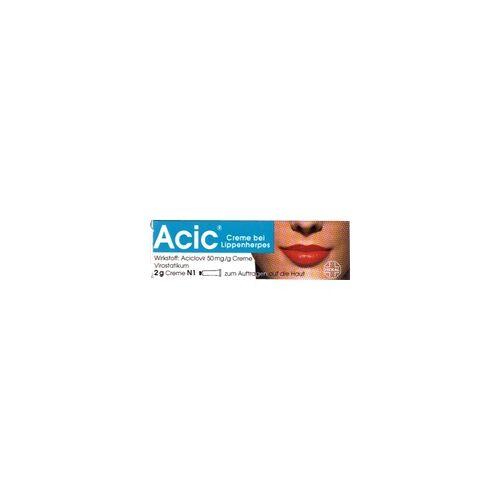 Hexal Acic Creme bei Lippenherpes 2 g