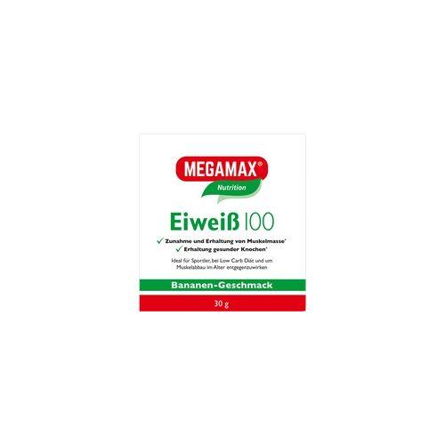 Megamax B.V. Eiweiss 100 Banane Megamax Pulver 30 g