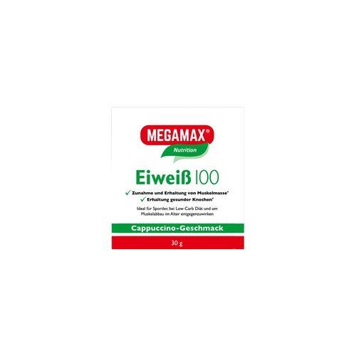 Megamax B.V. Eiweiss 100 Cappuccino Megamax Pulver 30 g