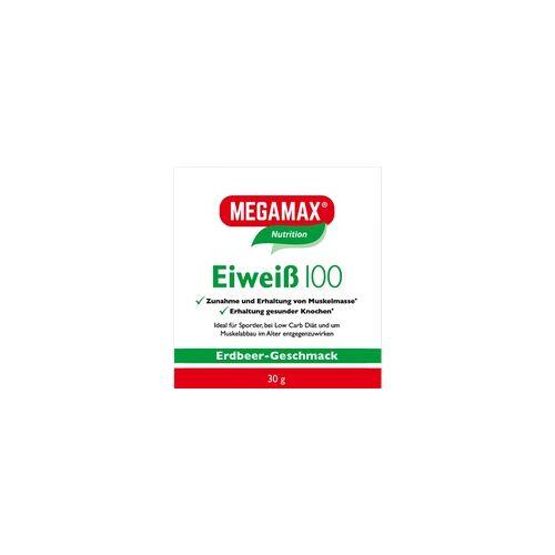 Megamax B.V. Eiweiss 100 Erdbeer Megamax Pulver 30 g